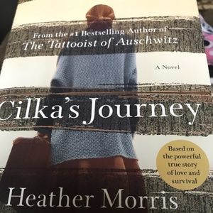 Cilka's Journey by Heather Morris, hardcover book